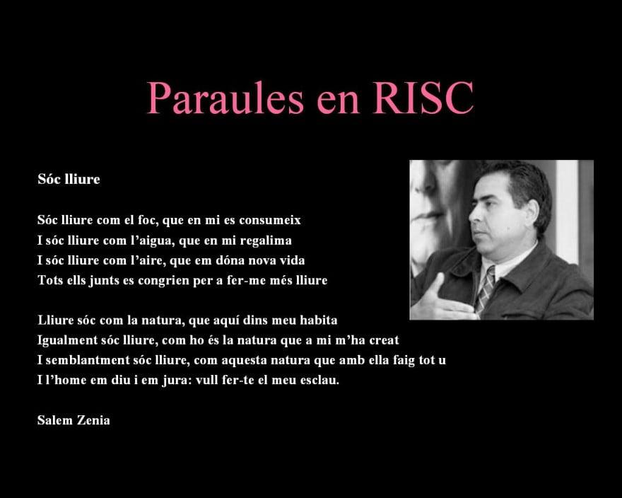 pARAULES EN RISC