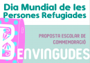 Projecte escolar de commemoració del Dia Mundial de les Persones Refugiades 2021