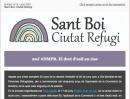 El dret d'asil en risc. Butlletí 14, Sant Boi Ciutat Refugi